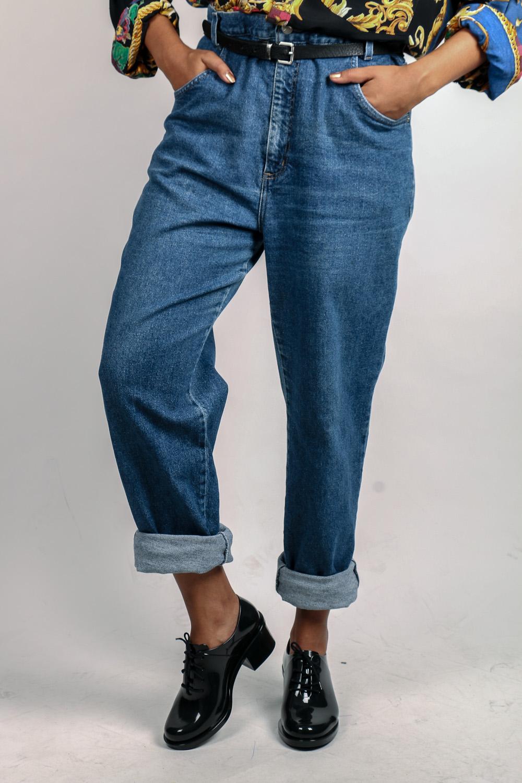 1e19f55e8 Mom Jeans Vintage Cintura Altíssima | Garimpário Brechó Online